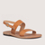 Plato UNISEX handmade leather sandal, Gold | Love From Cyprus