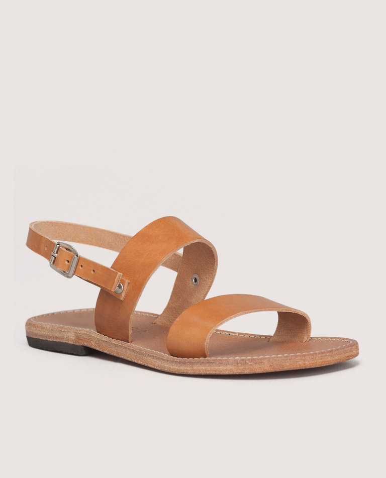 Plato UNISEX handmade leather sandal, Gold   Love From Cyprus