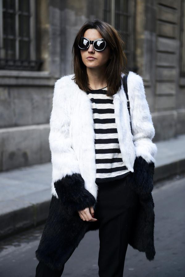 lovely pepa coat pants t-shirt shoes bag sunglasses