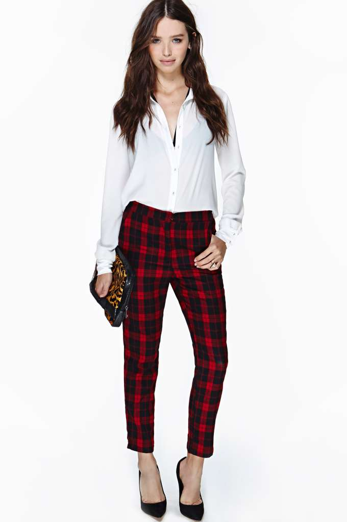 Whitley Trouser Pant in  Clothes Bottoms Pants at Nasty Gal