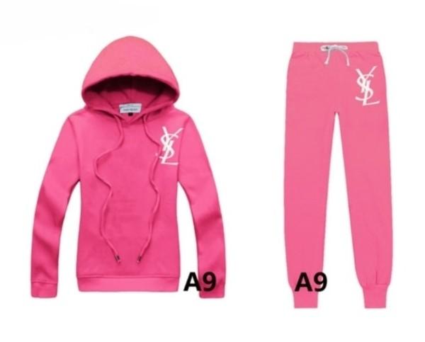 pants ysl tracksuit hoodie swetshirt pink sweater