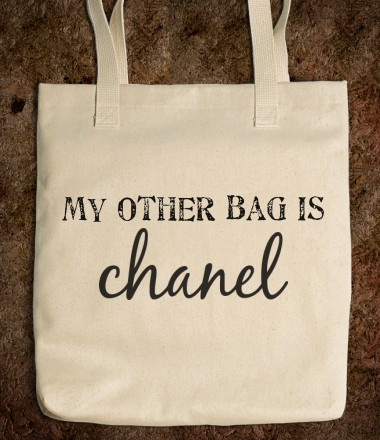 my other bag is chanel - FAUXIST FASHION - Skreened T-shirts, Organic Shirts, Hoodies, Kids Tees, Baby One-Pieces and Tote Bags Custom T-Shirts, Organic Shirts, Hoodies, Novelty Gifts, Kids Apparel, Baby One-Pieces | Skreened - Ethical Custom Apparel