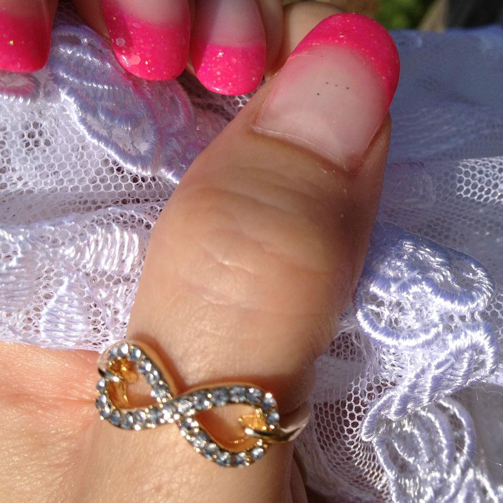 Thumb Rings Crystal Gold Heart Infinity Cross Bow Midi Rings Celebrity Trend | eBay