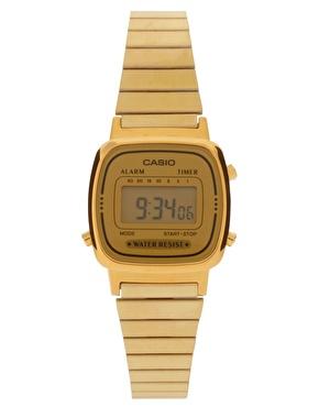 Casio   Casio Mini Digital Watch at ASOS