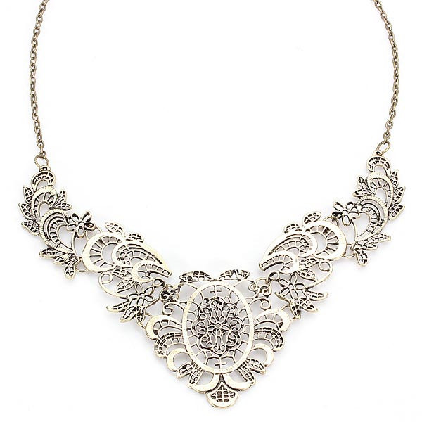 Vintage Clust Necklace | Outfit Made