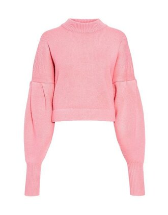 sweater pink sweater weather ifchic cashmere in style pleated
