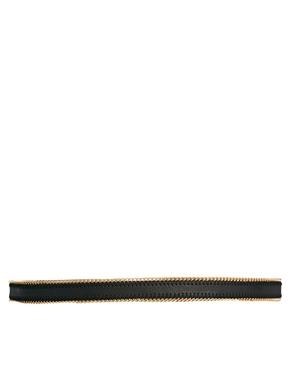 New Look   New Look Chain Edge Skinny Belt at ASOS