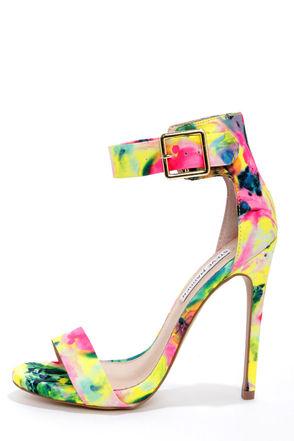 Steve Madden Marlenee Floral - Ankle Strap Heels - High Heels - $99.00