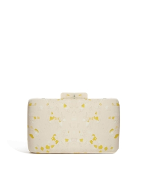 ASOS | ASOS Hard Clutch Bag With Speckled Effect at ASOS