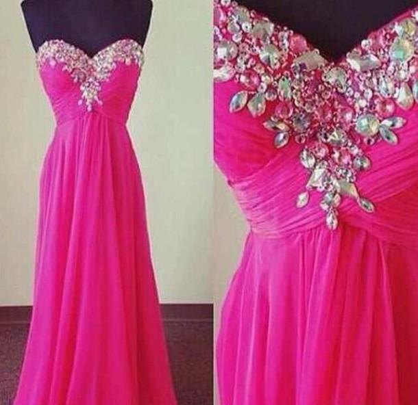 dress prom dress pink dress beautiful formal dress