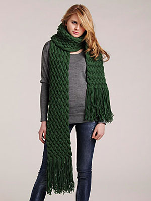 Knitted Scarves - How to Knit a Scarf at WomansDay.com - Woman's Day