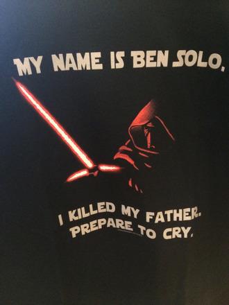 shirt kylo ren star wars dark side first order snoke darth vader boba fett general hux captain phasma stormtrooper the force awakens