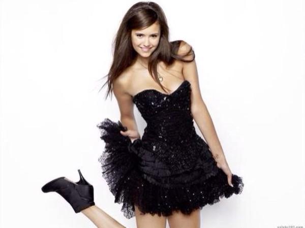 dress nina dobrev little black dress sexy party dresses prom dress squeeze