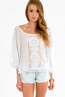 Fully Laced Top - Tobi