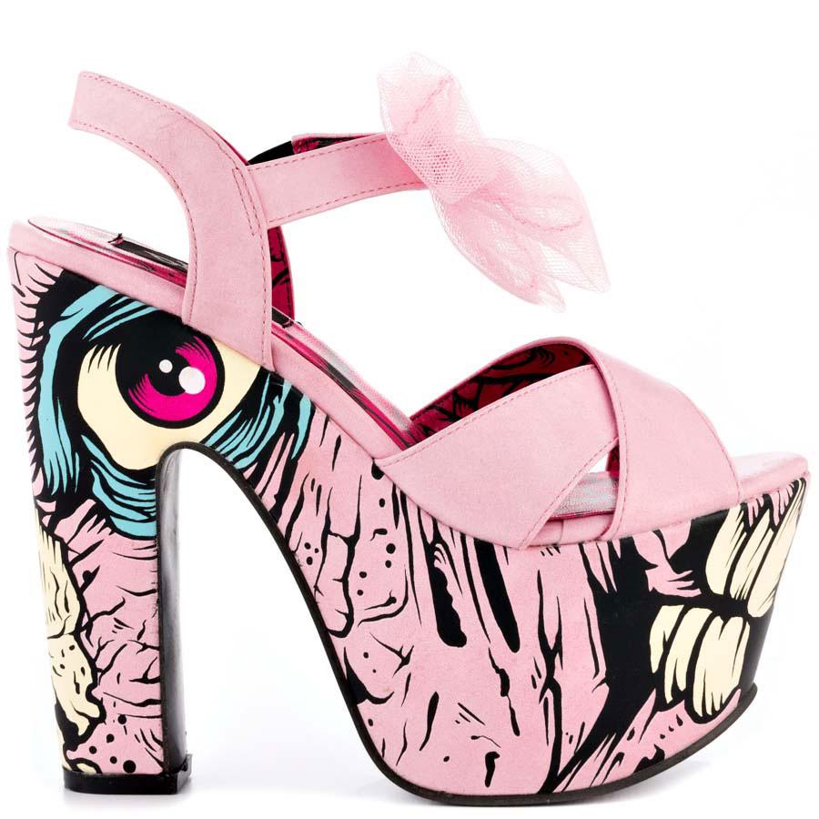 Iron Fist Dance Your Grave Spr Plt Pink 6.5 7.5 8.5 9.5 | HeelsFind.Com