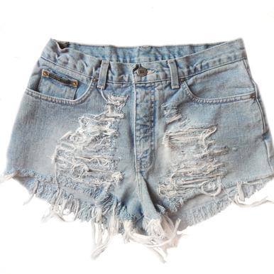 Original Razored 320 Shorts - Arad Denim