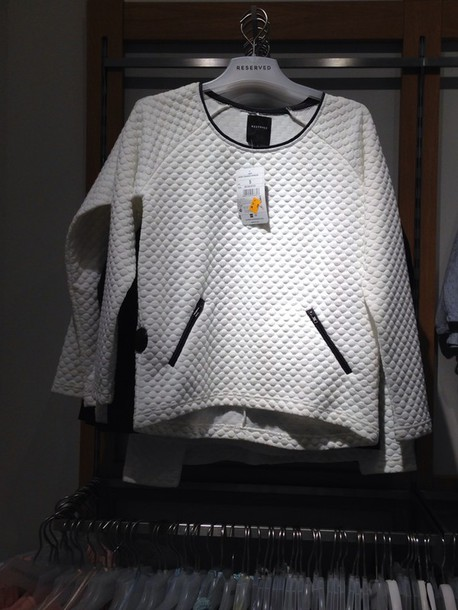 blouse white reserved