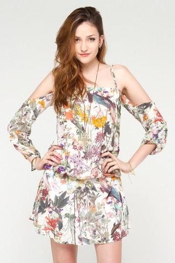 Vestido Shoulder to Shoulder Nature | MaryMust