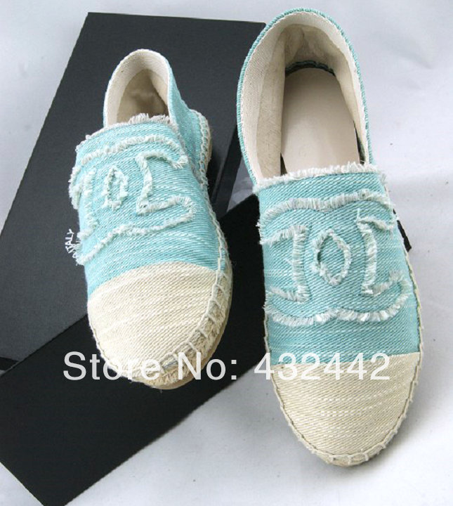2014 small logo color block decoration canvas shoes candy color farmer shoes-inFlats from Shoes on Aliexpress.com