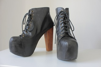 shoes jeffrey campbell lita black boots style fashion lace up hipster indie jeffrey campbell platform shoes lita platform boot lita shoes