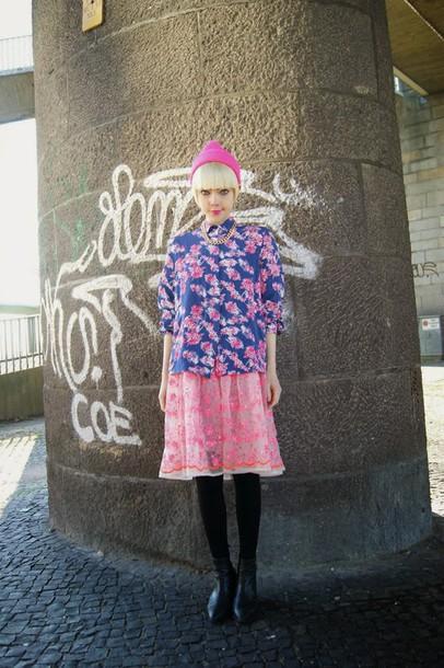 stella's wardrobe blogger top skirt