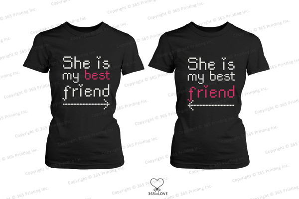 shirt bff bff bff shirts matching shirts matching look matching outfit humor shirts twins twin look besties