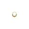 Annora mini. gold tibetan septum ring - piercing