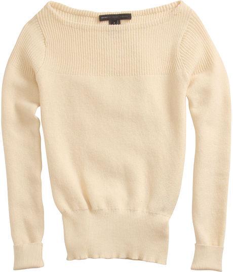 Marc by Marc Jacobs Grete Sweater in Pearl / TheFashionMRKT