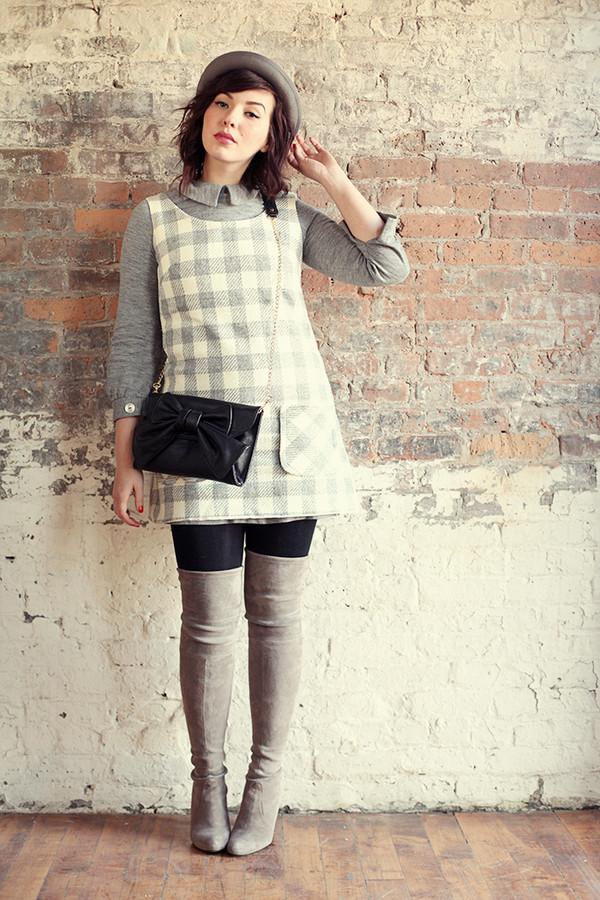 keiko lynn hat dress sweater shoes