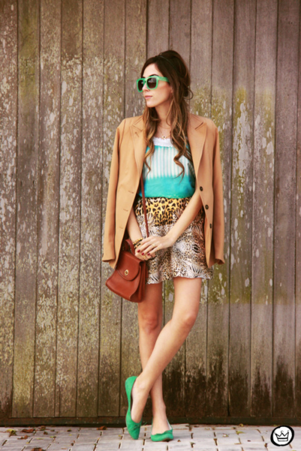 fashion coolture jacket sunglasses