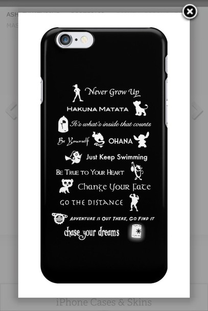 phone cover disney lessons iphone case disney mashup