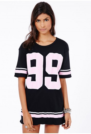 Joannah 99 Varsity Top - Tops - Oversized Tops - Missguided
