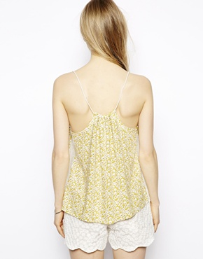 Little White Lies | Little White Lies Cami Swing Top In Ditsy Daisy at ASOS