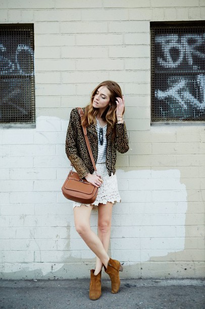 the blonde salad blogger skirt jacket crochet date outfit