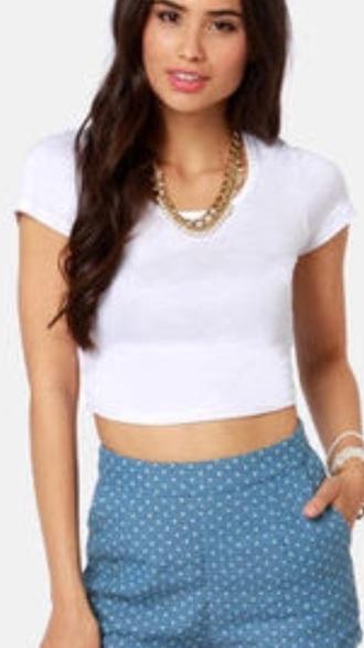 shirt crop tops white crop tops short sleeved tank top