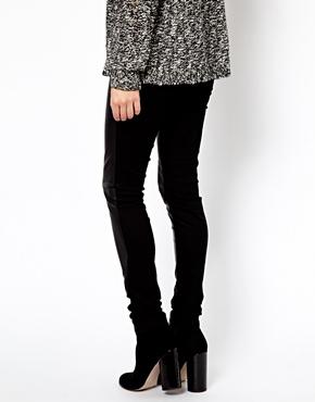 Vero Moda | Vero Moda Leather Look Leggings at ASOS