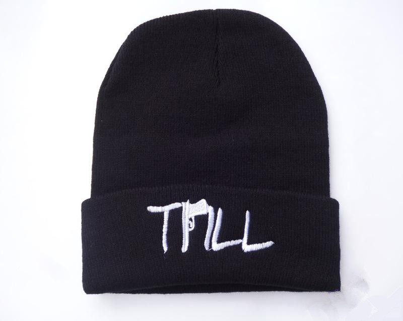 2013 Fashion TriLL Beanie Hats Cool Exclusive Winter Knitted Hip Hop Caps For men Women-in Skullies & Beanies from Apparel & Accessories on Aliexpress.com