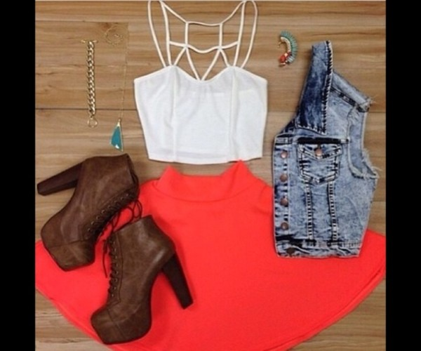shirt crop tops crop tops embrodering white crop tops summer cut out white crop tops summer shoes skirt jacket