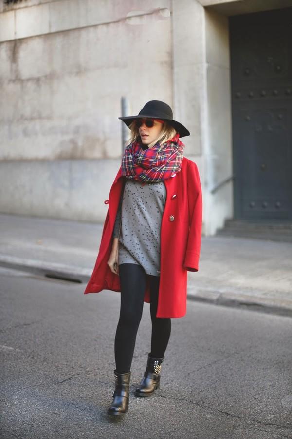my showroom coat dress shoes scarf sunglasses hat jewels bag