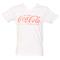 Men's white v-neck coca-cola t-shirt : truffleshuffle.com