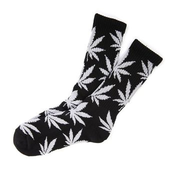 Field For You New Plantlife Marijuana Weed Leaf Cotton High Socks Colorful Men/women on Wanelo