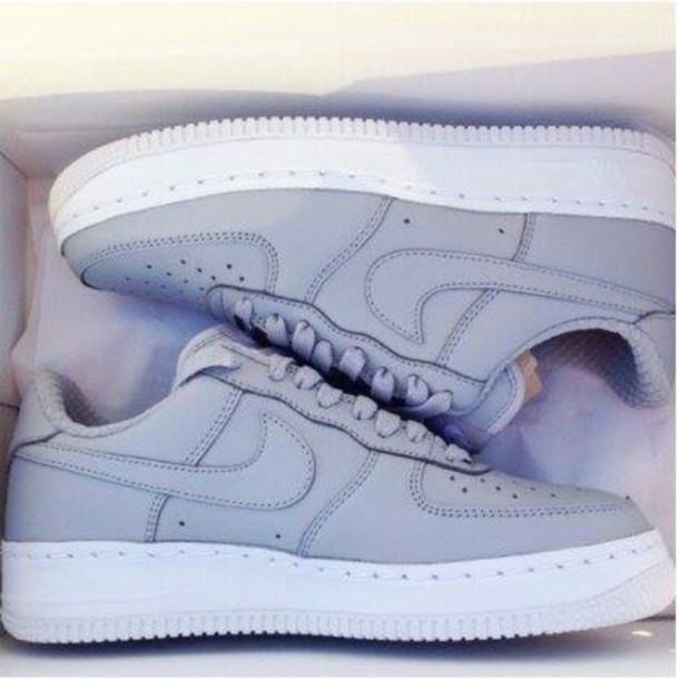 shoes nike shoes grey shoes nike air low top sneakers