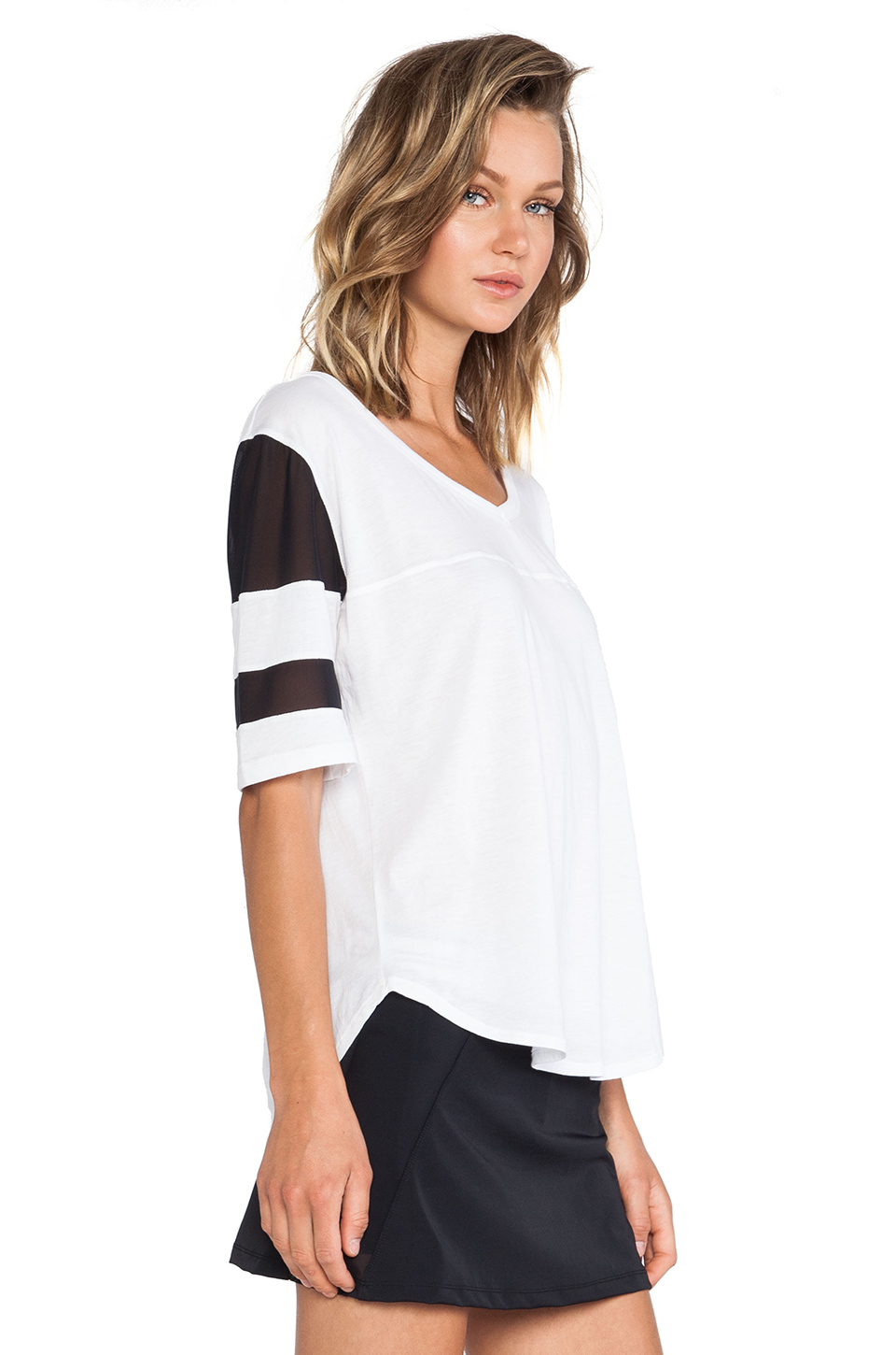 OLYMPIA Activewear Corfu Shirt in White | REVOLVE