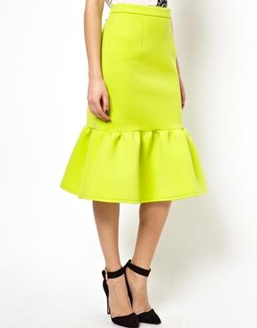 ASOS | ASOS Pencil Skirt with Peplum Hem at ASOS