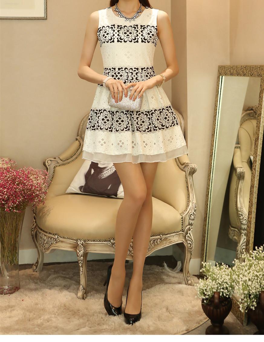 Vintage Pattern Dress_Dresses_Digbabies