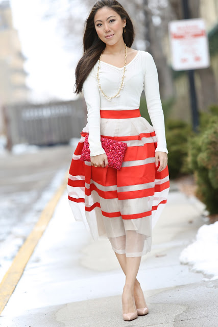 Wearing Fashion Fluently: Coral Delight