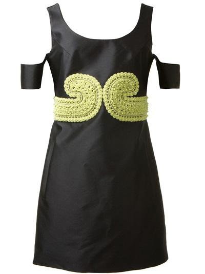 Carven Beaded Off-shoulder Dress - Gigi Tropea - Farfetch.com