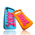 [grdx02098]cute IShoes Silicone IPhone 4/4S Case-pink on Luulla