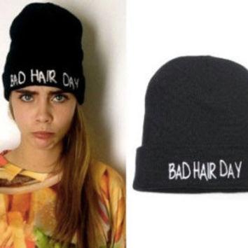 Bad Hair Day Beanie — Bib   Tuck on Wanelo