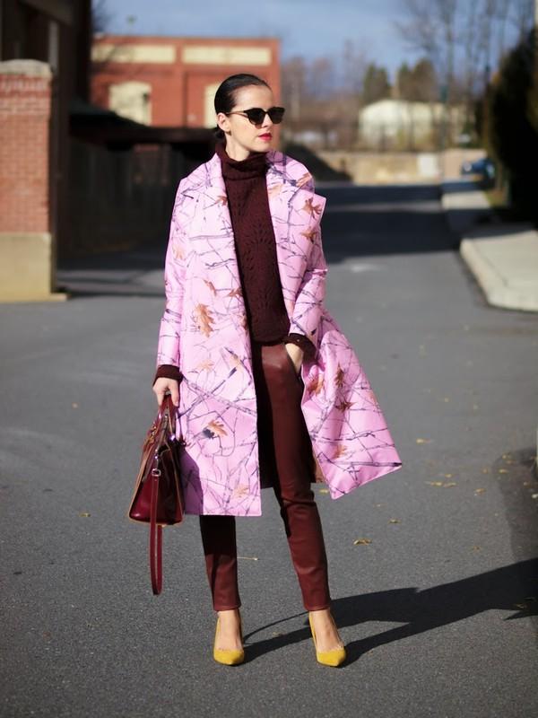 bittersweet colours coat pants sweater shoes bag jewels